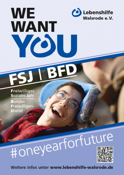 We want you FSJ/BFD